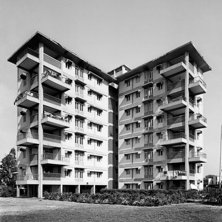 R.K. Puram apartments, 1965