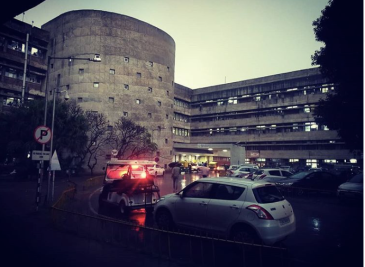 Nehru Hospital, Chandigarh. Photograph courtesy of Shubh Mohan Singh.