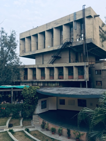 Delhi brutalism (Shri Ram Centre).